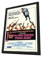 The Pink Panther Strikes Again - 11 x 17 Movie Poster - Style A - in Deluxe Wood Frame