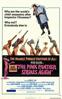 The Pink Panther Strikes Again - 11 x 17 Movie Poster - Style A