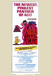 The Pink Panther Strikes Again - 14 x 36 Movie Poster - Insert Style A