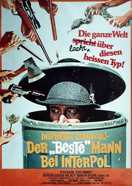 The Pink Panther Strikes Again - 27 x 40 Movie Poster - German Style B
