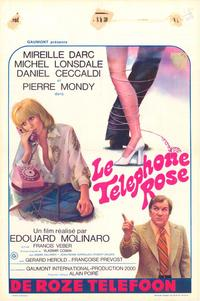 The Pink Telephone - 27 x 40 Movie Poster - Belgian Style A