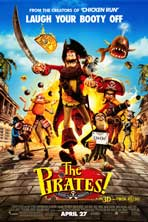 The Pirates! Band of Misfits - 27 x 40 Movie Poster - Style B