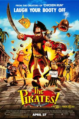 The Pirates! Band of Misfits - 11 x 17 Movie Poster - Style B