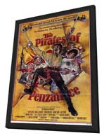 The Pirates of Penzance - 11 x 17 Movie Poster - Style A - in Deluxe Wood Frame