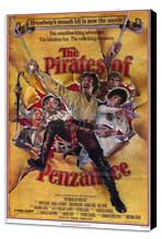 The Pirates of Penzance - 11 x 17 Movie Poster - Style A - Museum Wrapped Canvas