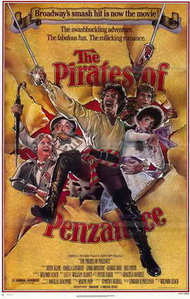 The Pirates of Penzance - 11 x 17 Movie Poster - Style A