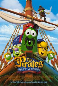 The Pirates Who Dont Do Anything: A Veggie Tales Movie - 11 x 17 Movie Poster - Style A