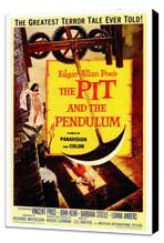 The Pit and the Pendulum - 27 x 40 Movie Poster - Style A - Museum Wrapped Canvas