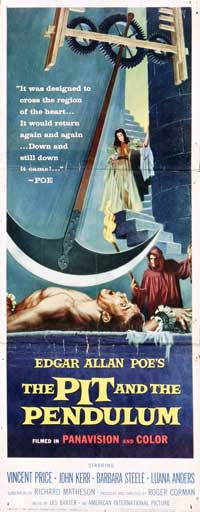 The Pit and the Pendulum - 14 x 36 Movie Poster - Insert Style A