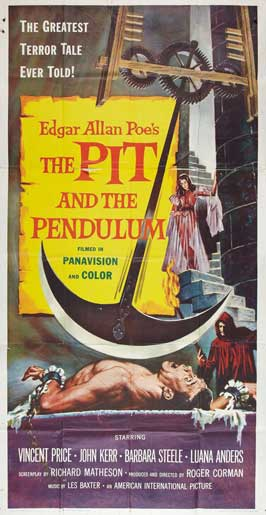 The Pit and the Pendulum - 20 x 40 Movie Poster - Style A