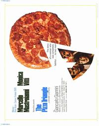 Pizza Triangle - 22 x 28 Movie Poster - Half Sheet Style A