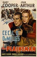 The Plainsman - 11 x 17 Movie Poster - Style E