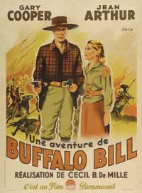 The Plainsman - 11 x 17 Movie Poster - French Style A