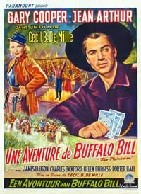 The Plainsman - 14 x 22 Movie Poster - Window Card