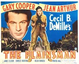 The Plainsman - 22 x 28 Movie Poster - Half Sheet Style A