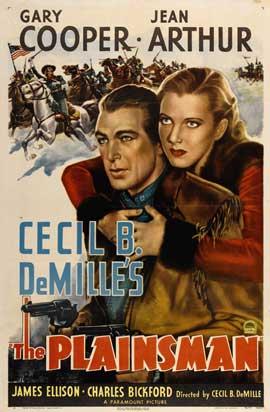 The Plainsman - 27 x 40 Movie Poster - Style C