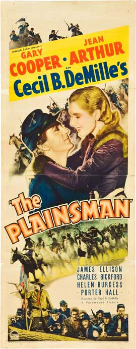 The Plainsman - 14 x 36 Movie Poster - Insert Style A