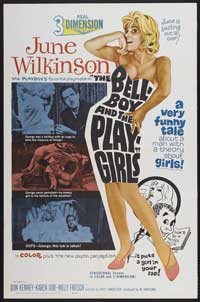 The Playgirls and the Bellboy - 43 x 62 Movie Poster - Bus Shelter Style A