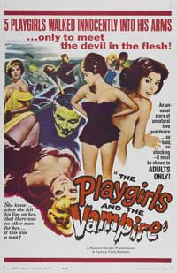 The Playgirls and the Vampire - 43 x 62 Movie Poster - Bus Shelter Style A