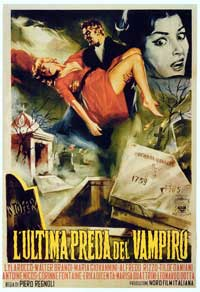 The Playgirls and the Vampire - 11 x 17 Movie Poster - Italian Style A