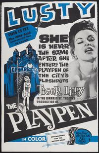 The Playpen - 11 x 17 Movie Poster - Style A