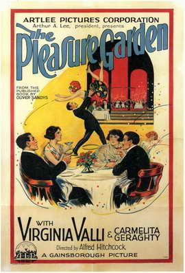 The Pleasure Garden - 11 x 17 Movie Poster - Style A