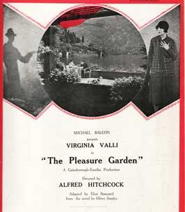 The Pleasure Garden - 11 x 17 Movie Poster - Style B