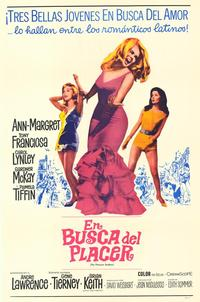 The Pleasure Seekers - 11 x 17 Movie Poster - Spanish Style A