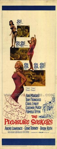 The Pleasure Seekers - 11 x 17 Movie Poster - Style B