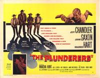 The Plunderers - 22 x 28 Movie Poster - Half Sheet Style B