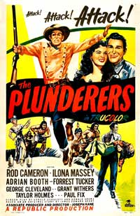 The Plunderers - 11 x 17 Movie Poster - Style B