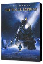 The Polar Express - 11 x 17 Movie Poster - Style B - Museum Wrapped Canvas