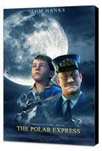 The Polar Express - 27 x 40 Movie Poster - Style D - Museum Wrapped Canvas