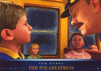 The Polar Express - 11 x 14 Poster German Style E