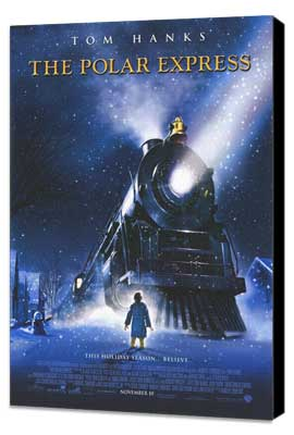 The Polar Express - 27 x 40 Movie Poster - Style A - Museum Wrapped Canvas