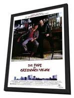 The Pope of Greenwich Village - 27 x 40 Movie Poster - Style A - in Deluxe Wood Frame