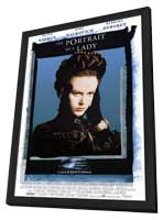 Portrait of a Lady - 11 x 17 Movie Poster - Style B - in Deluxe Wood Frame