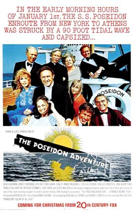 The Poseidon Adventure - 11 x 17 Movie Poster - Style B