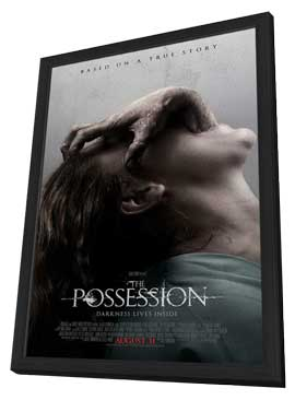 The Possession - 27 x 40 Movie Poster - Style A - in Deluxe Wood Frame