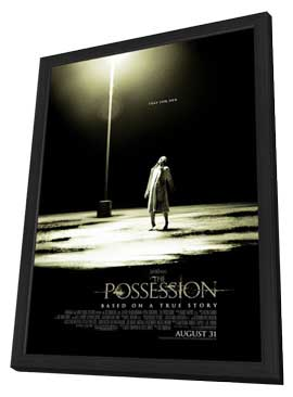 The Possession - 27 x 40 Movie Poster - Style B - in Deluxe Wood Frame