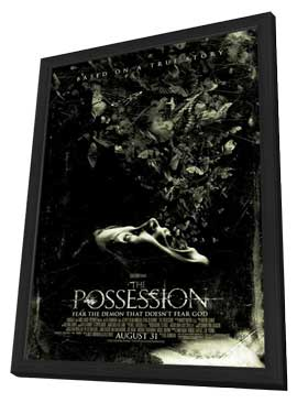 The Possession - 27 x 40 Movie Poster - Style C - in Deluxe Wood Frame