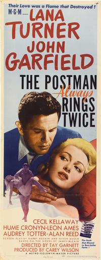 The Postman Always Rings Twice - 14 x 36 Movie Poster - Insert Style A