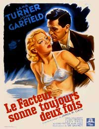 The Postman Always Rings Twice - 11 x 17 Movie Poster - French Style A