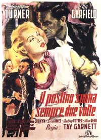 The Postman Always Rings Twice - 11 x 17 Movie Poster - Italian Style A