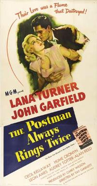 The Postman Always Rings Twice - 11 x 17 Movie Poster - Style E