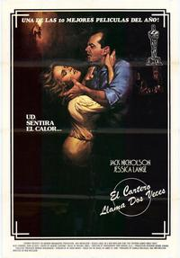 The Postman Always Rings Twice - 11 x 17 Movie Poster - Spanish Style A