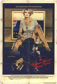 The Postman Always Rings Twice - 43 x 62 Movie Poster - Bus Shelter Style A