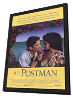 The Postman - 11 x 17 Movie Poster - Style A - in Deluxe Wood Frame