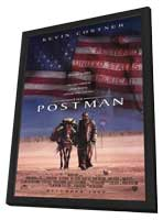 The Postman - 27 x 40 Movie Poster - Style A - in Deluxe Wood Frame