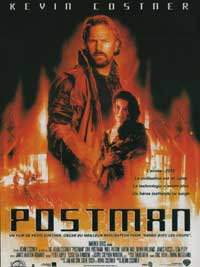 The Postman - 11 x 17 Movie Poster - French Style A